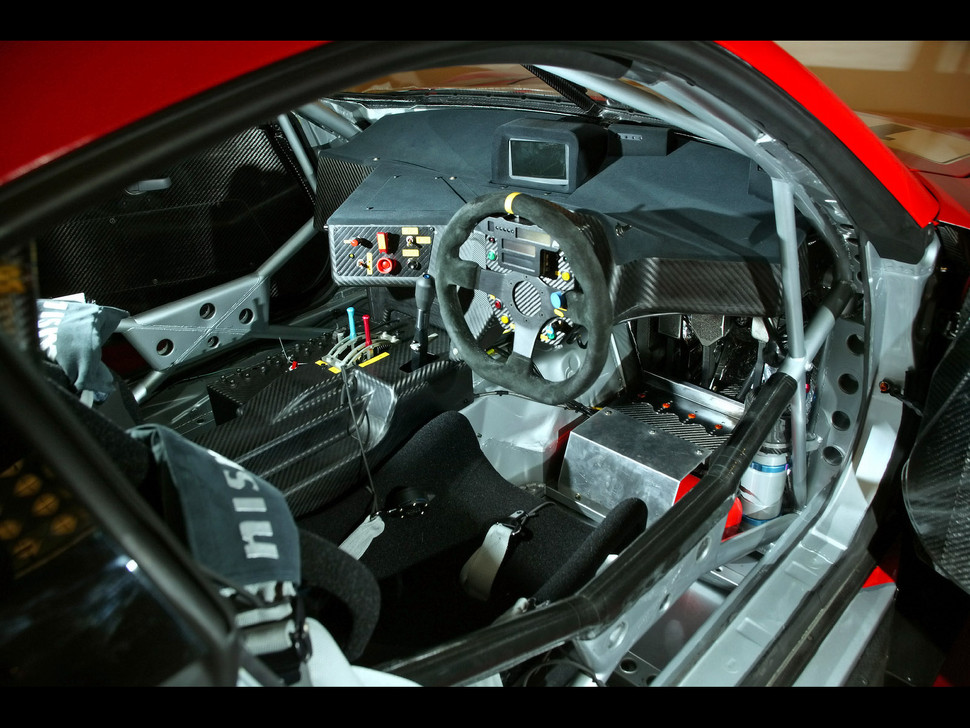 Xanavi Skyline GTR Interior