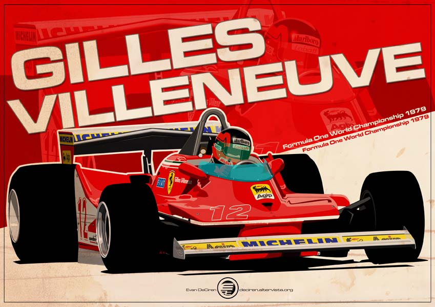 Gilles Villeneuve - F1 1979