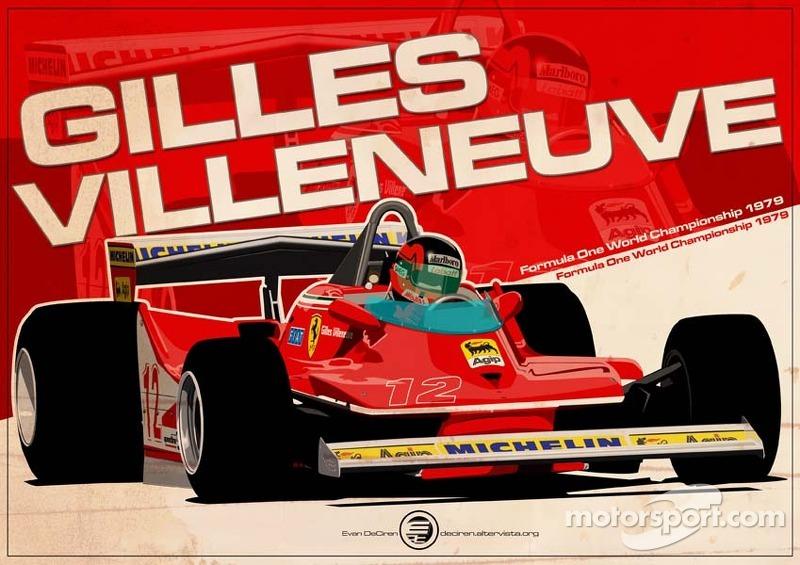 Gilles Villeneuve - F1 1979