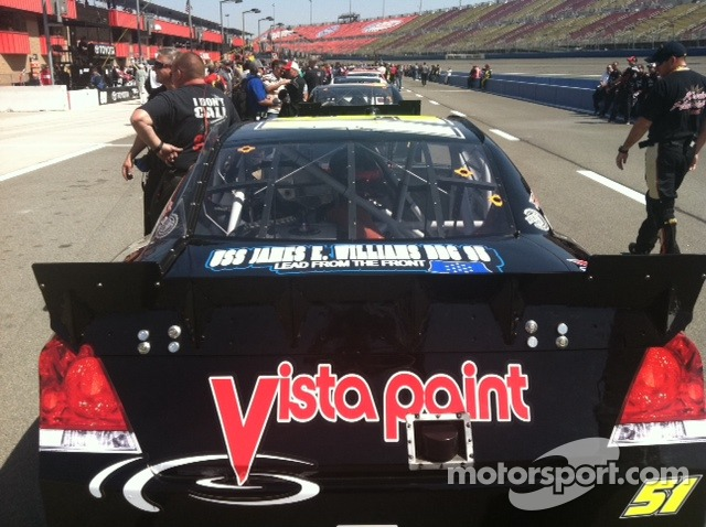 Vista Paint Support for the Jeremy Clements Racing #51 Chevy Impala