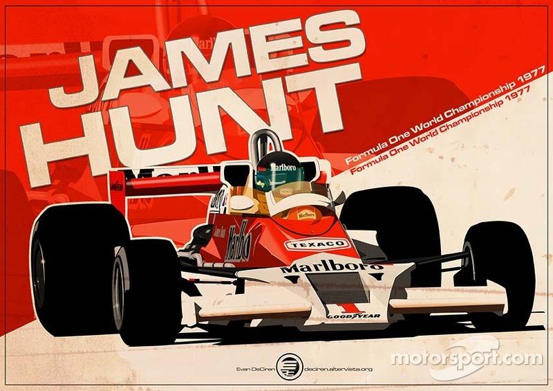 James Hunt - F1 1977