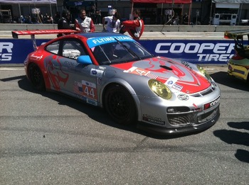 Flying Lizard Porsche