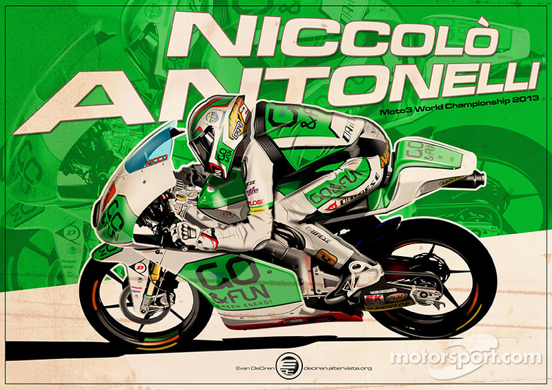 Niccolò Antonelli - Moto3 2013