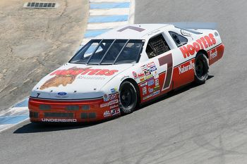 Alan Kulwicki's Hooters Thunderbird will race in June at the SVRA Brickyard Invitational!