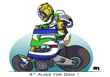 Top 5 bike - Domi Aegarter