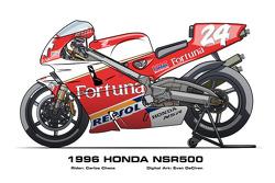 Honda NSR500 - 1996 Carlos Checa