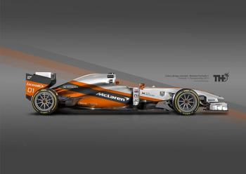 Fan rendering - Futuristic McLaren Livery