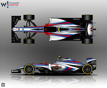 Alternative Williams Martini Racing 2014