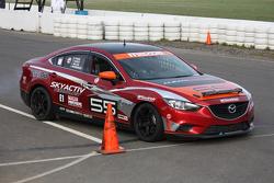 SkyActiv Mazda (#55) Exiting Pits