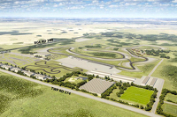 The proposed Rockyview Motorsports Park near Calgary, Alberta, Canada