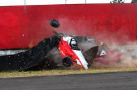 Photo by Rita Garrido - Lucas Toresan and Bruna Tomaselli have a big crash
