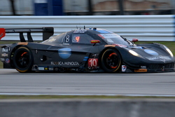 Taylor Racing turn 10, dusk on race day