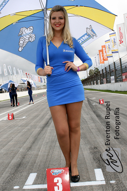 Grid girl , Moto 1000 GP championship