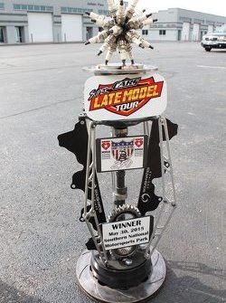 Nascar short track trophy