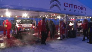 Citroen Racing - WRC - Sweden 2011 - Pre-Stage Highlights