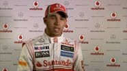 Vodafone McLaren Mercedes 2012 Launch -  Lewis Hamilton and Martin Whitmarsh Q&A