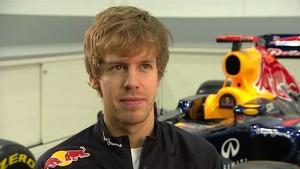 Red Bull Racing 2012 - RB8 Launch - Interview Sebastian Vettel