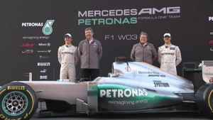 2012 MERCEDES AMG Team Launch - Feature