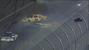 Caution Flag Number 10 - Daytona 500 - Daytona - 02/27/2012