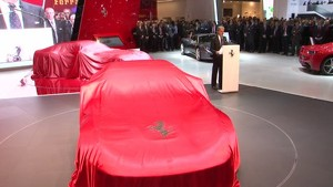 Geneva debut for the F12berlinetta