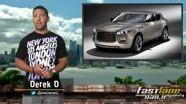 Goodyear's Gymkhana, 2014 Cadillac CTS, Aston Martin SUV, & Vantage!