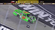 Regan Smith Wrecks Danica Patrick - Bristol - 08/25/2012