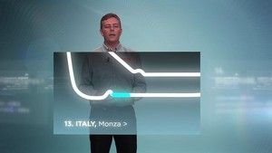 2012 Formula 1 Grand Prix of Italy - Pirelli 3D Simulation