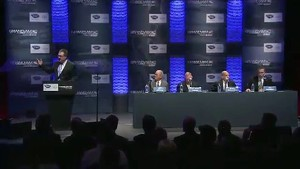 Grandam ALMS sportscar unification press conference video