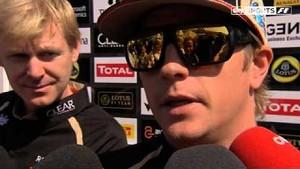 Driver change won't affect Kimi