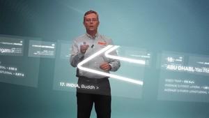2012 Formula 1 Grand Prix of India - Pirelli 3D Simulation