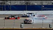 Hard crash for Carl Edwards at the 2013 Budweiser Duel 1