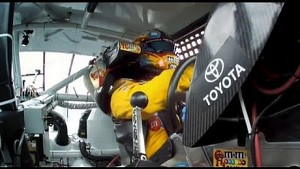 NASCAR Kansas Race Highlights