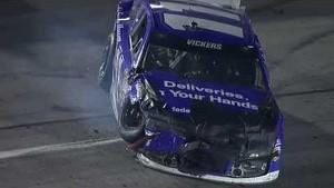 Vickers hits the wall: Richmond