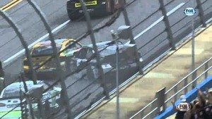 Huge crash at Talladega, 13 cars involved in 'The Big One'  - Aaron's 499 - 2013