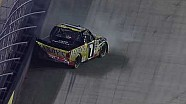 NASCAR John Wes Townley hits the wall | Bristol (2013)