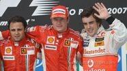 Räikkönen back to Ferrari