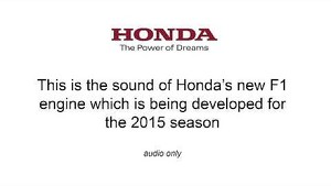 Honda Fires new F1 Engine for the First Time