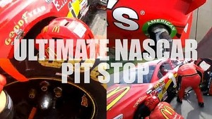 Ultimate NASCAR Pit Stop POV | Google Glass