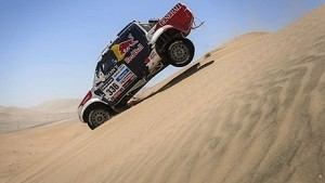 Champion ski jumper turned rally car racer for Dakar 2014