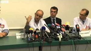 Michael Schumacher fighting for his life full news conference