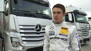DTM test Paul Di Resta - Interview