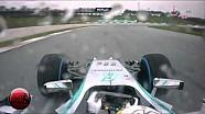 F1 2014 Malaysian GP Lewis Hamilton Pole Lap