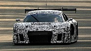 Mysterious Audi R8 LMS tests at Monza