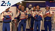 Le Mans 2014: Onboard Toyota #7 best lap in the second qualifying session