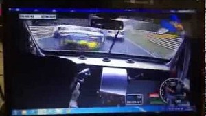 2014 24 Hours of the Nürburgring unbelievable crash
