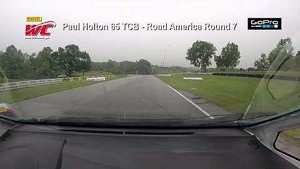 PWC 2014 Road America On Board Highlights of Paul Holton Round 7 TCB