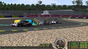 rFactor with 2014 LMP1 cars from Audi, Porsche and Toyota