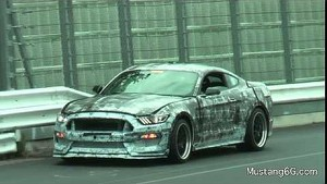 First Video of the SVT Mustang (GT350) Testing at Nürburgring!