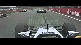 Massa flips in opening lap crash - 2014 German GP