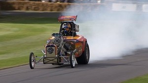 Rat Trap dragster 3,000bhp at Festival of Speed